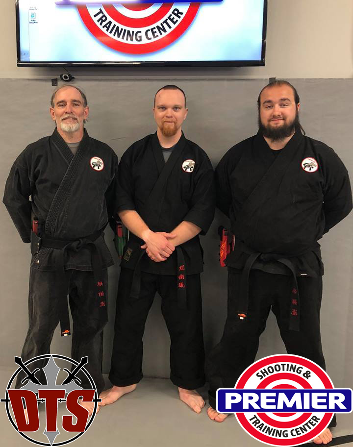 blackbelts at premiere with logos